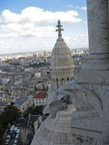 coeur Παρίσι εκκλησιών sacre Στοκ Φωτογραφίες