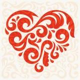 Coeur abstrait Photo stock