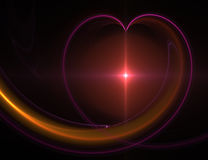Coeur abstrait Photos stock