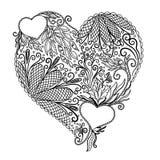 Coeur abstrait Image libre de droits