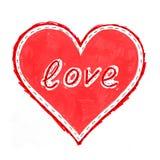 Coeur abstrait avec image libre de droits
