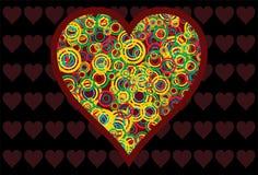 Coeur-amour Illustration Stock