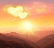 Coeur, amour et jour de valentines Photographie stock