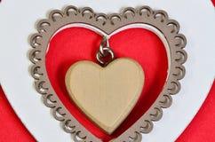Coeur au coeur Photos stock
