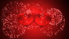 Coeur aux coeurs illustration libre de droits