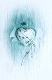 Coeur avec ailes Photographie stock