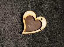 Coeur avec amour Image stock