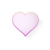 Coeur avec le modèle Image libre de droits