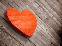 Coeur boisé Photographie stock libre de droits
