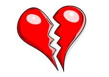 Coeur brisé Images stock