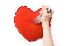 Coeur brisé Photos libres de droits