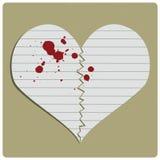 Coeur brisé Photographie stock