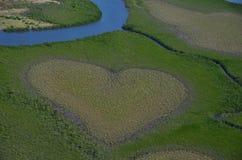 Coeur célèbre de voh en Nouvelle-Calédonie Images libres de droits