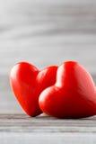 Coeur Carte de voeux Photos stock