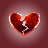 Coeur cassé Image stock