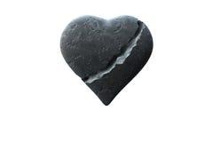 Coeur cassé Images stock