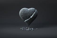 Coeur cassé Photographie stock