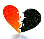 Coeur cassé Images libres de droits