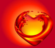 Coeur chaud Photo libre de droits