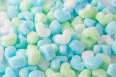 Coeur coloré, fond d'amour, pour le jour de valentines Images stock