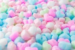 Coeur coloré, fond d'amour, pour le jour de valentines Photographie stock