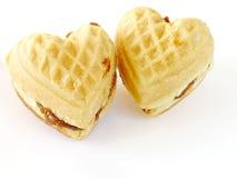 Coeur-comme des biscuits Photographie stock libre de droits