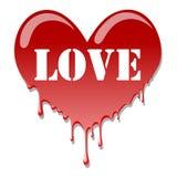 Coeur comme versant illustration de vecteur