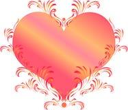 Coeur décoratif Photo stock