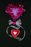 Coeur décoratif Images libres de droits