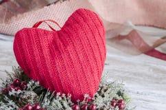 Coeur décoratif Photos libres de droits