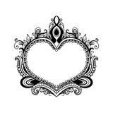 Coeur décoratif Images stock