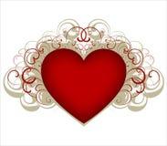 coeur d'éléments de conception Image stock