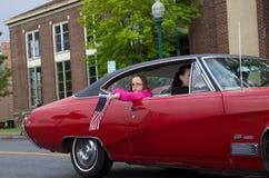 COEUR D ALENE, АЙДАХО 6/14/2014: D Alene автомобиля 2014 выставка автомобиля города широкая; Стоковые Изображения