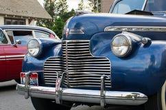 COEUR D ALENE, АЙДАХО 6/14/2014: D Alene автомобиля 2014 выставка автомобиля города широкая; Стоковые Фотографии RF