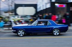 COEUR D ALENE, IDAHO 6/14/2014: D Alene dell'automobile 2014 un'ampia manifestazione di automobile della città; Immagine Stock Libera da Diritti