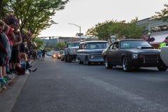 Car D` lane, Classic car show Royalty Free Stock Image