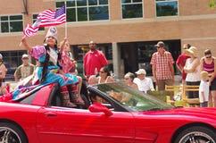 COEUR D ALENE, IDAHO 6-4-2014: 4to del desfile de julio en el d céntrico Alene de Coeur Imagen de archivo libre de regalías