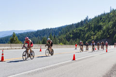 Free Coeur D  Alene Ironman Cycling Event Royalty Free Stock Image - 31811246