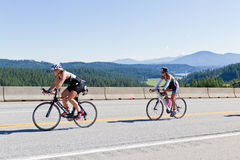 Free Coeur D  Alene Ironman Cycling Event Stock Image - 31811491