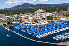 The Coeur d' Alene Resort Royalty Free Stock Photography