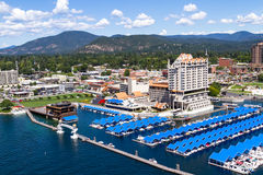 The Coeur d' Alene Resort Royalty Free Stock Photos