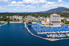 The Coeur d' Alene Resort Stock Image