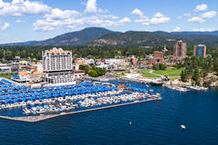 The Coeur d' Alene Resort Stock Photo