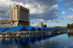 Coeur d' Alene Resort Royalty Free Stock Images