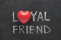 Coeur d'ami loyal Photo libre de droits