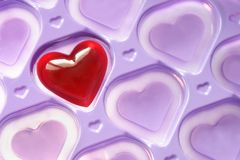 Coeur d'amour Photos stock