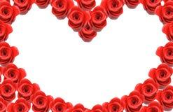Coeur d'amour avec l'espace de copie Photos stock