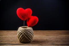 coeur d'amour, concept de valentine Photos libres de droits