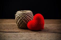 coeur d'amour, concept de valentine Image stock