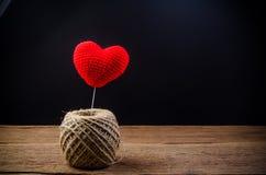 coeur d'amour, concept de valentine Image libre de droits